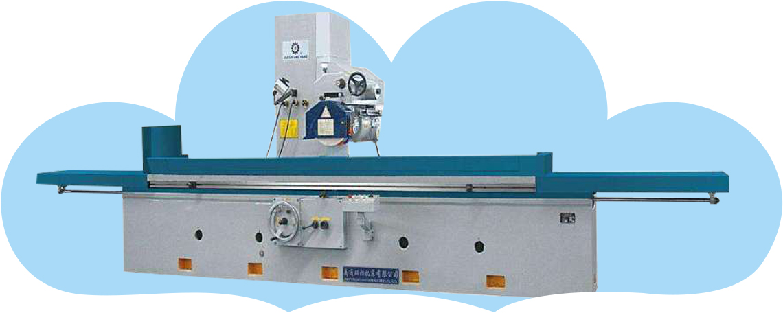 Horizontal axis table grinding machine